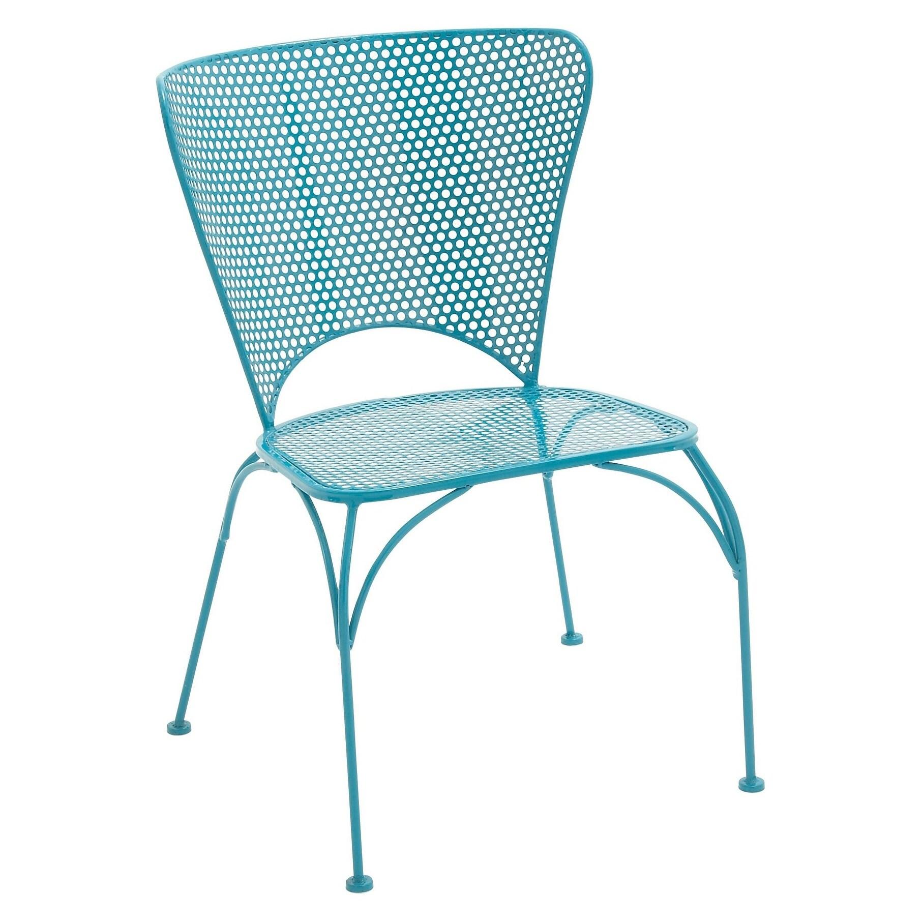 Studio 350 Metal Chair - Blue (28982-Metal Chair), Black,...