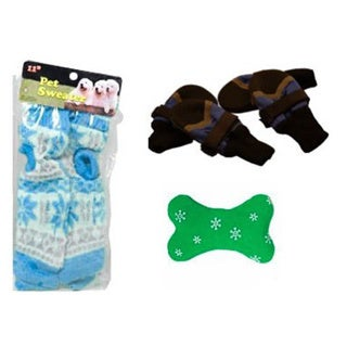 Pyara Paws Luxury Winter Pet Kit, Medium (Medium), Multi,...
