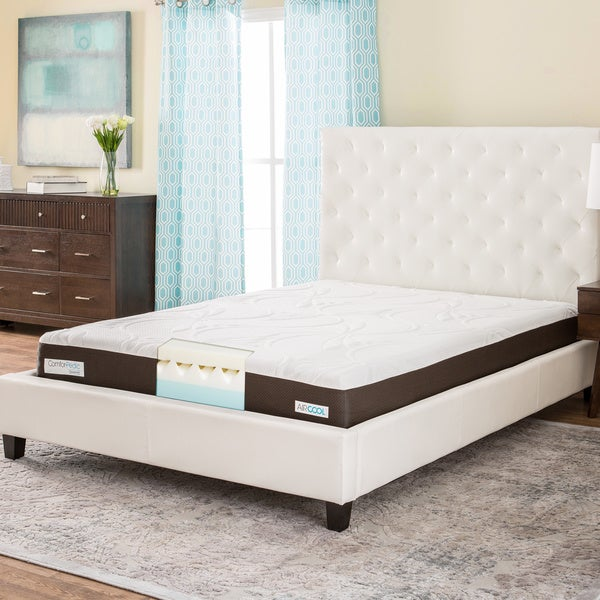 Shop Comforpedic From Beautyrest 8 Inch Memory Foam