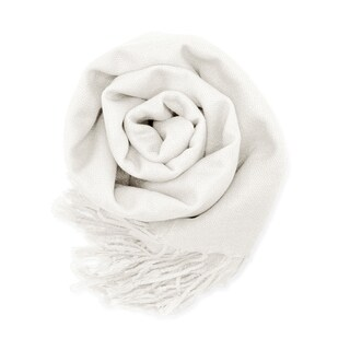 Gearonic Women's Long Pashmina Silk Scarf/Wrap/Shawl/Stole (Option: White)