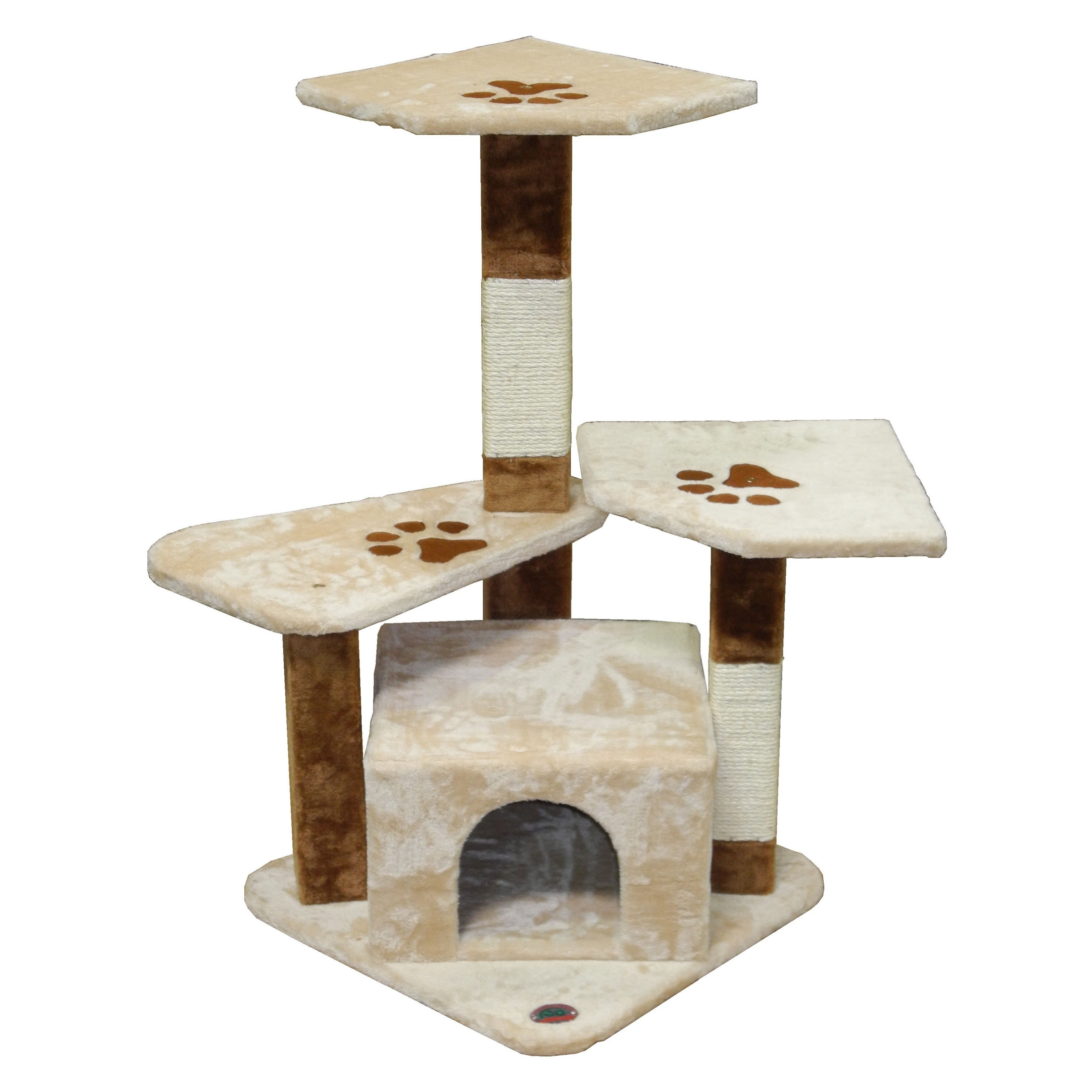 "GoPetClub 35.25-inches Cat Tree Furniture High (34""W x 22..."