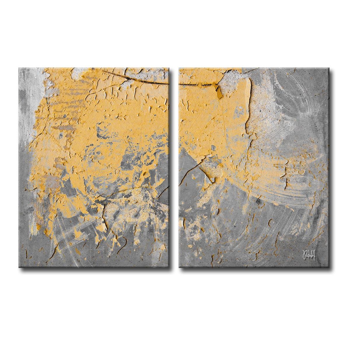 Ready2HangArt \'Abstract ABS XVI\' Canvas Wall Art Multi | eBay