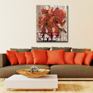 Ready2HangArt 'Abstract ABS IV' Modern Canvas Wall Art