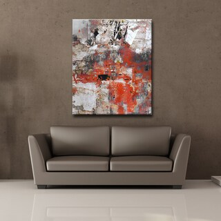 Ready2HangArt 'Abstract ABS V' Canvas Wall Art