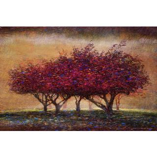 Marmont Hill - Crabapple Blossoms by Chris Vest Painting Print on Canvas (More options available)