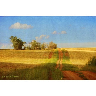 Marmont Hill - Road Old House by Chris Vest Painting Print on Canvas