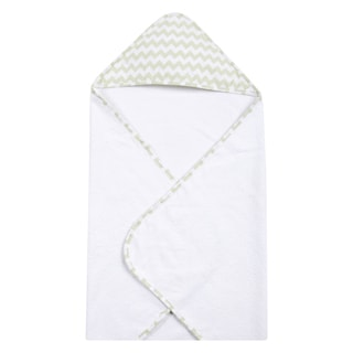 Trend Lab Sea Foam Chevron Hooded Towel