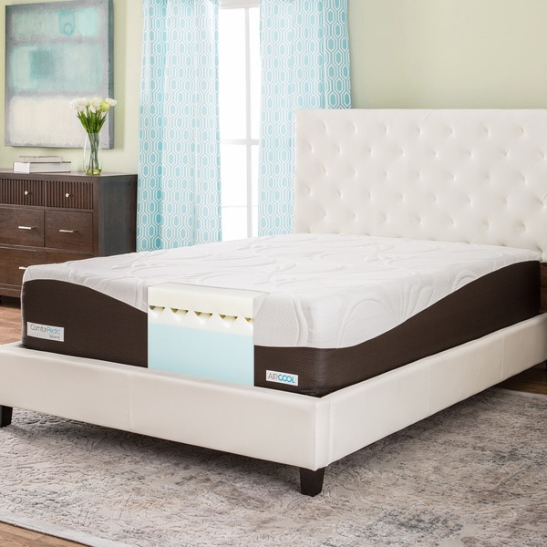 ComforPedic from Beautyrest 14-inch King-size Memory Foam Mattress