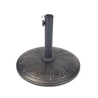 Cast Concrete 28 lb Umbrella Stand