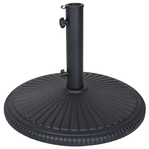 Heavy Duty Cast Iron 50 lb Umbrella Stand