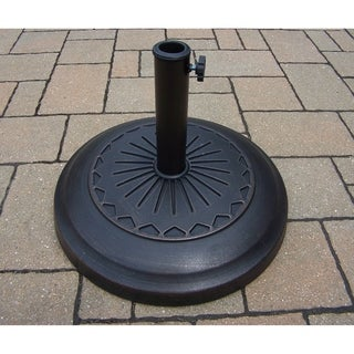 20-inch Rust-free Cast Polyresin Star 34 lb Umbrella Stand