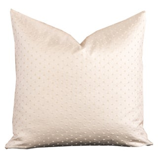 Celeste Textured Off-white Toss Pillow