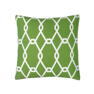 Jill Rosenwald Chain Link Square Decorative Pillow