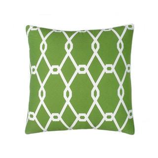 Jill Rosenwald Chain Link Square Decorative Pillow