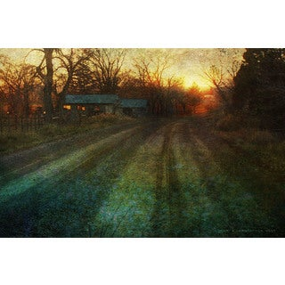 Marmont Hill - House Down The Road by Chris Vest Painting Print on Canvas