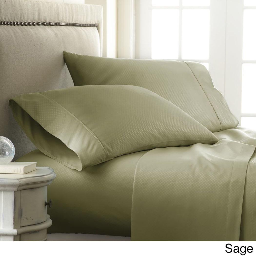 Soft Essentials Premium Embossed Checker Design 4-piece B...