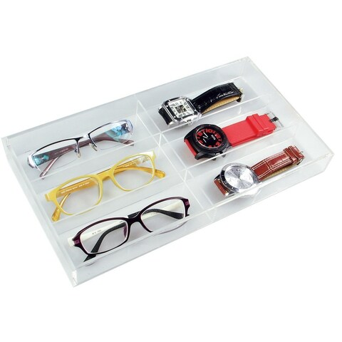 Ikee Design Acrylic Eyewear Case For 6 Pairs