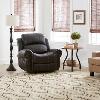 Charlie PU Leather Glider Recliner Club Chair by Christopher Knight Home|https://ak1.ostkcdn.com/images/products/10913000/P17944225.jpg?impolicy=medium