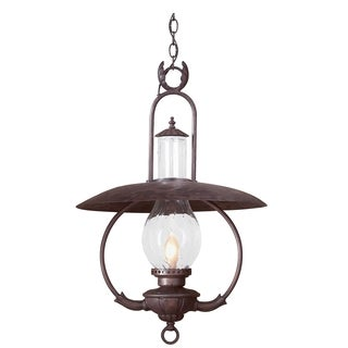 Troy Lighting La Grange 1-light Bronze Hanging Lantern