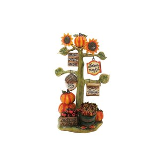 Benzara 10-inch Harvest Decor with Signs Statuary