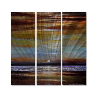 Metal Wall Art 'Evening Light' Toni Grote