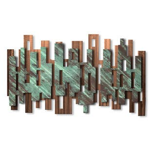 Metal Wall Art Sculpture 'Elevate' Ash Carl|https://ak1.ostkcdn.com/images/products/10913518/P17944606.jpg?impolicy=medium