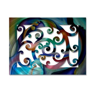 Metal Wall Art 'Vivid Vines' Ash Carl