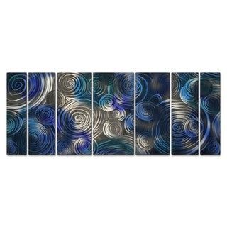Metal Wall Art 'Cool Cosmic Cluster' Ash Carl