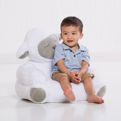 Trend Lab Lamb Children's Plush Character Chair