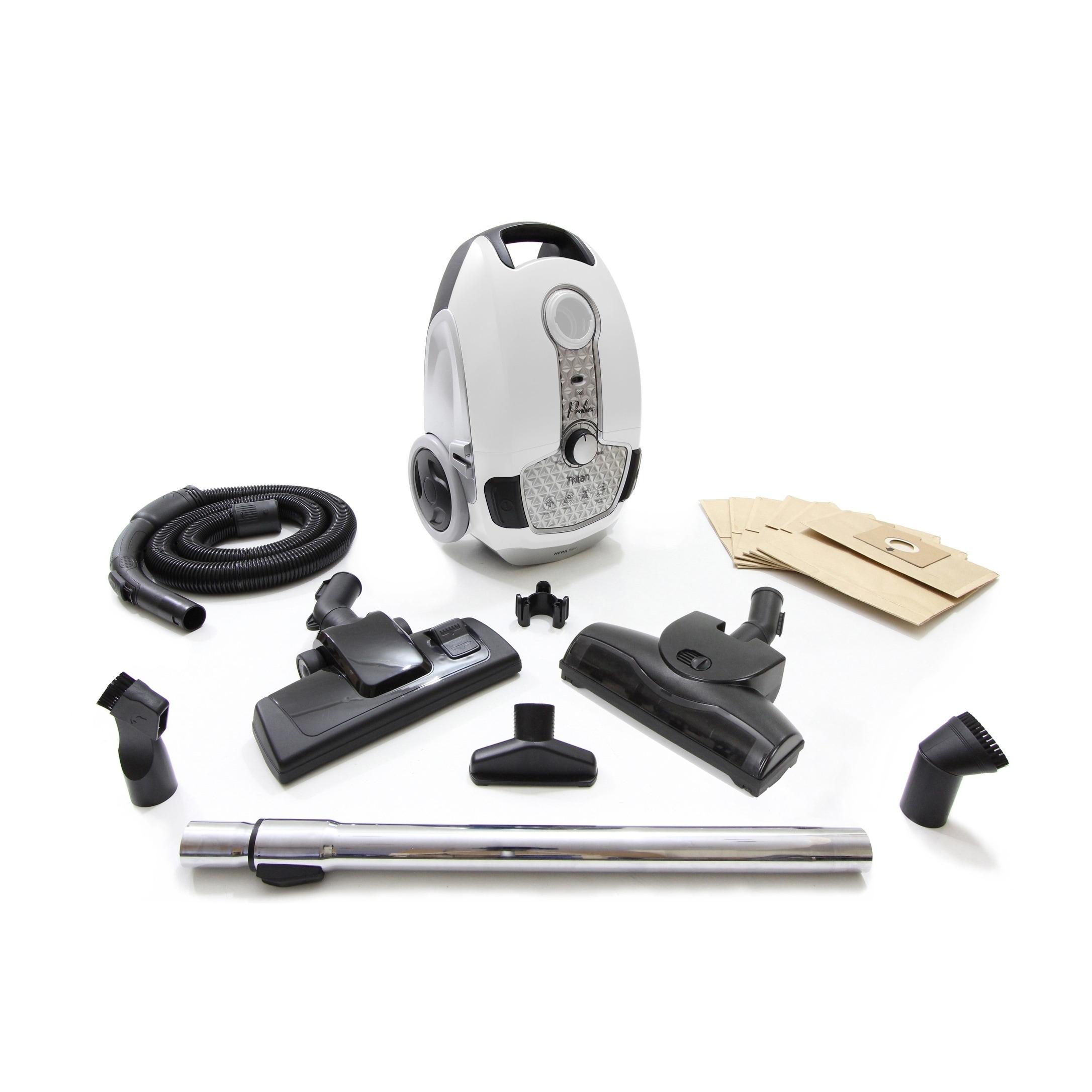 PROLUX Tritan Canister Vacuum Hepa Sealed Hard Floor Vacu...