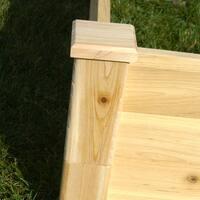 Riverstone Industries Eden Quick Assembly 11-inch Raised Garden Bed (4x8)