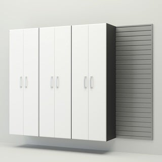 Flow Wall 3 Tall Cabinet Set