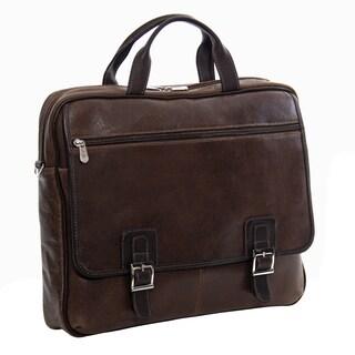Piel Leather Vintage Business Briefcase