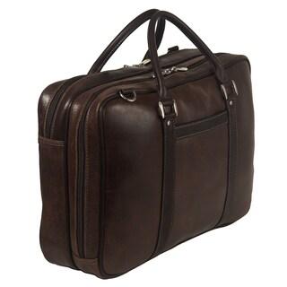 Piel Leather Vintage Laptop Briefcase