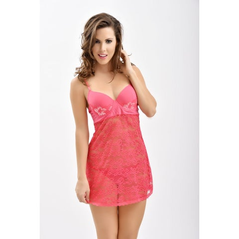 Popsi Lingerie Sweet But Sexy Pink Babydoll