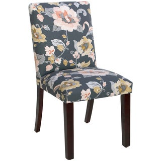 Skyline Furniture Uptown Dining Chair in Lalita Storm