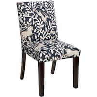 Skyline Furniture Uptown Dining Chair in Pantheon Admiral