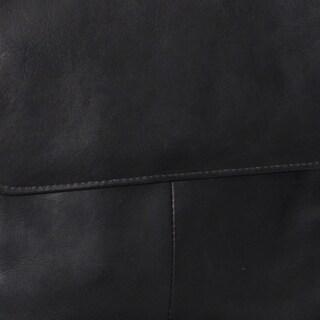 Piel Leather Large Open Multi-Purpose Tote Bag