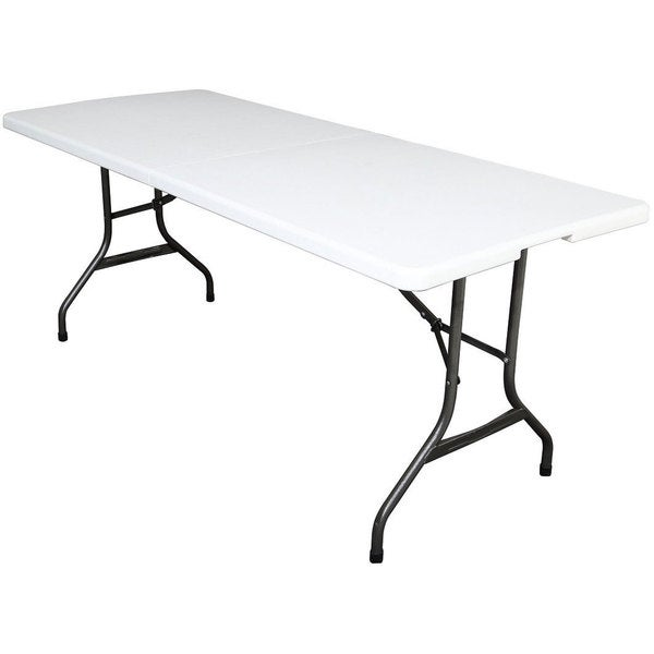 6 foot white folding table free shipping today for Buro 600 6ft ups