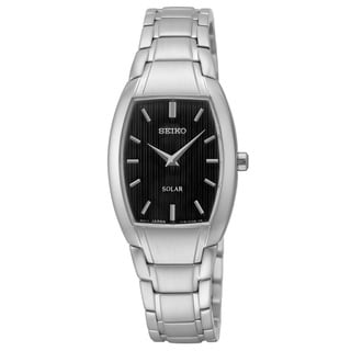 Seiko Women's 'Core' Analog Display Silvertone Watch