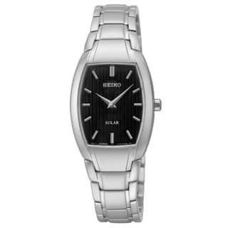 Seiko Women's SUP259 'Core' Analog Display Silvertone Watch|https://ak1.ostkcdn.com/images/products/10914031/P17944934.jpg?impolicy=medium