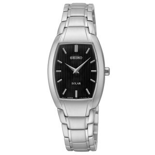Seiko Women's SUP259 'Core' Analog Display Silvertone Watch