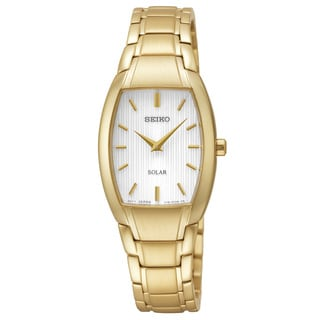 Seiko Women's 'Core' Analog Display Analog Quartz Goldtone Watch