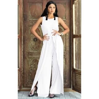 4d21ec725316 Buy White Rompers   Jumpsuits Online at Overstock
