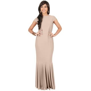 Boatneck Evening & Formal Dresses For Less | Overstock.com