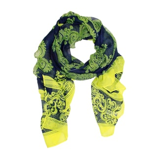 Saachi Women's Abstract Paisley Scarf (China)
