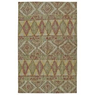 Hand-Knotted Vintage Multi Boho Rug (5'6 x 8'6)