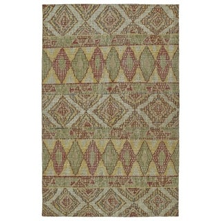 Hand-Knotted Vintage Multi Boho Rug (8'0 x 10'0)