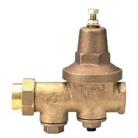 Wilkins 1 1/2-inch FNPT Union x FNPT Pressure Reducing Valve 112-600XL