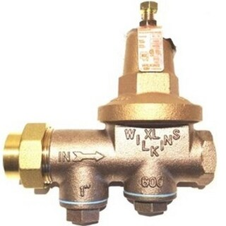 Wilkins 1-600XL 1-inch FNPT Union x FNPT Pressure Reducing Valve